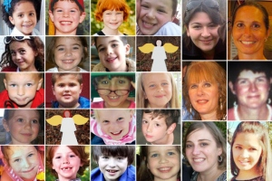 The victims of Sandy Hook Elementary.